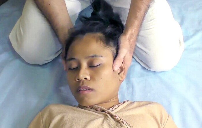 Neck massage therapy